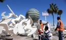 35 Milyon Lira Harcanan Mersin Deniz Parkın Yıkımına Başlandı
