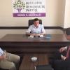 ABD Büyükelçiliği'nden Hdp Mersin İl Teşkilatı'na Ziyaret