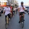 Bisikletli Gezgin Fransız Niaffenin Öldüren Kazayı Protesto Ettiler