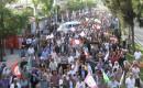 Diyarbakırda Binlerce Kişi Hdpye Saldırıları Protesto Etti