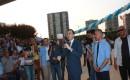 DSİ Temel Atma Töreninde AK Parti Adayları Sahneye Çıkarak Botuna Bastı