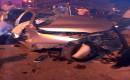 Elektrik Direğine Çarpan Aracın Motoru 50 Metre Savruldu: 2 Ölü, 2 Yaralı