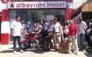 Erdemli – Hayvan Hakları İçin Motosikletle Mersin'den Bakü'ye Gidiyor