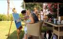 Farklı Ülkelerden 21 Ressam, Kızkalesi'ni Tuvale Yansıttı