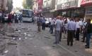 HDPnin Mersin ve Adana Binalarında Patlama! İşte Olay Yerinden İlk Kareler
