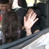 Kazada Sıkışan Sürücünün Küçük Kızı İtfaiyecilere Zor Anlar Yaşattı
