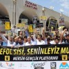 Mersin Gençlik Platformundan Mursi Eylemi