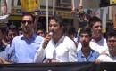 Mersin'de Mursi'ye Destek Eylemi
