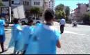 Mersin'de Öğrencilerden Harita ve Çöp Poşetli Temizlik Dersi