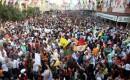 Mersinde Türk Bayraklı Hdp Kutlaması