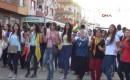 Mersin'de Türk Bayraklı Hdp Kutlaması