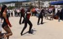 Silifke Yat Şenliğine Rus Dansçı Kızlardan Gösteri