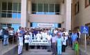 Silifkede Sağlık Çalışanları, Doktor Cinayetini Protesto Etti