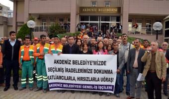 operasyon ve gözaltılar protesto edildi-3