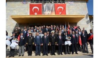 ATATÜRK'ÜN MERSİN'E GELİŞİNİN 93. YIL DÖNÜMÜ TÖRENLERLE KUTLANDI.