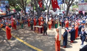 BAŞKAN KOCAMAZ, 27. GELENEKSEL ERDEMLİ TÜRKMEN ŞÖLENİ'NE KATILDI (49)