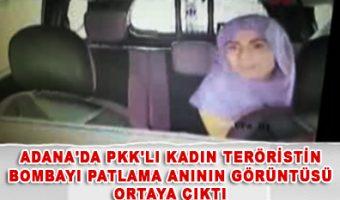 Adana'da PKK'lı kadın teröristin
