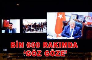 BİN 600 RAKIMDA 'GÖZ GÖZE'