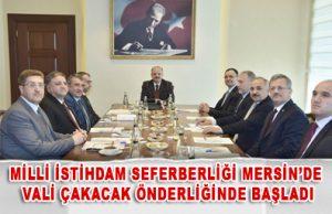 Milli İstihdam Seferberliği Mersin'de Vali Çakacak Önderliğinde Başladı