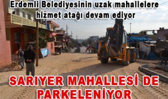 SARIYER MAHALLESİ DE PARKELENİYOR