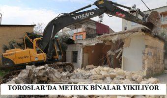 metruk binalar yıkılıyor (1)